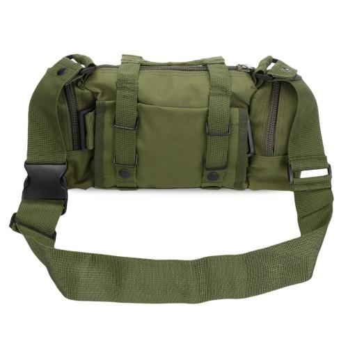 b4cbcb37ac Τσάντα Ταχυδρόμου Στρατιωτικού Τύπου 6 L Χακί - 3171