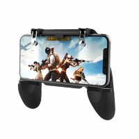 Εξωτερικά Πλήκτρα Για Παιχνίδια W10 Mobile Game Controller Cellphone Fire Button Trigger Gaming Grip with Joystick - 3858 | Τεχνολογία | 3858 | Shop Express