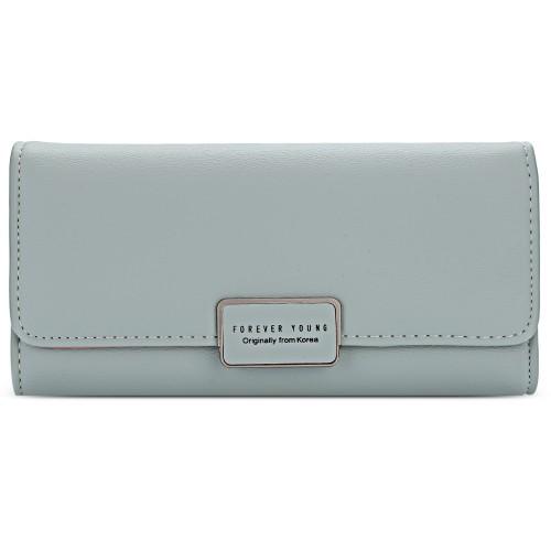 08ec38297c7 Γαλάζιο Γυναικείο Πορτοφόλι PU Δέρμα Baellerry - 3750 | Γυναικείες Τσάντες  Πορτοφόλια | 3750 | Shop